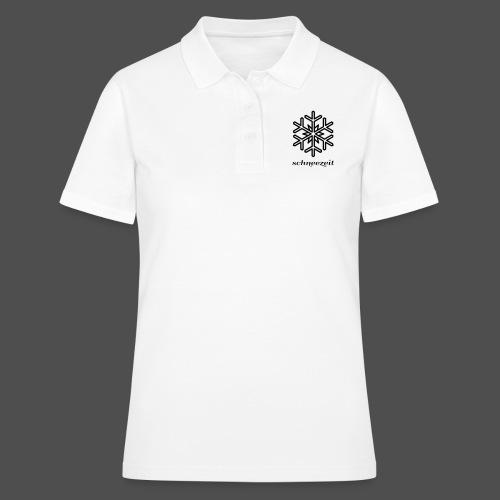 snowflake - Women's Polo Shirt