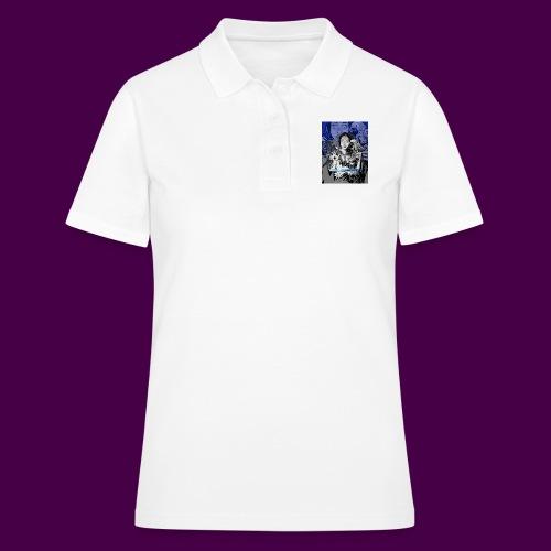 Blue Design - Women's Polo Shirt