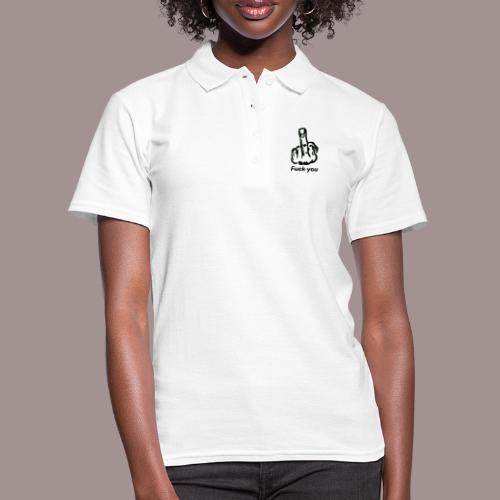 fuck you - Frauen Polo Shirt