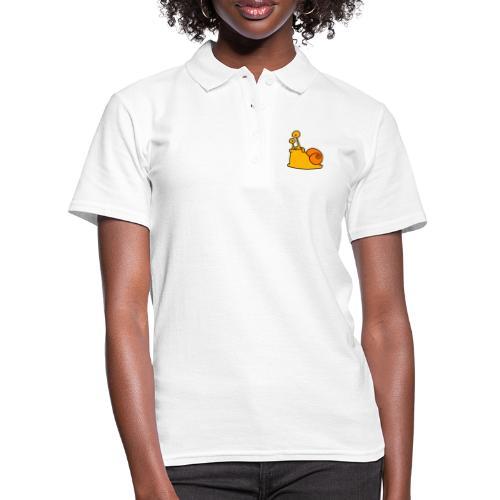 Schnecke Nr 21 von dodocomics - Frauen Polo Shirt