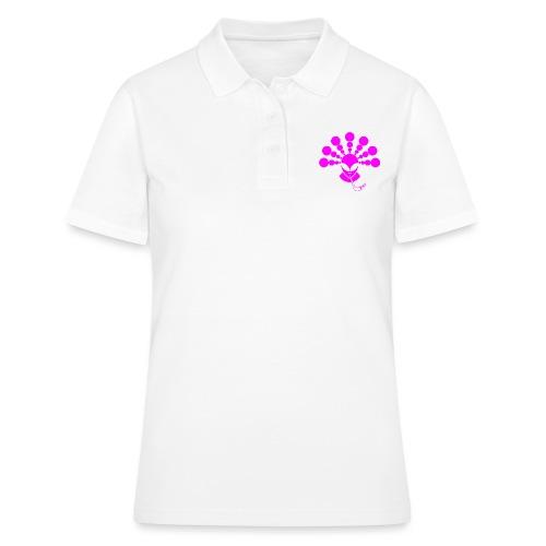 The Smoking Alien Pink - Women's Polo Shirt