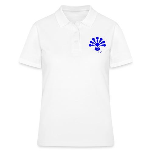 The Smoking Alien Blue - Women's Polo Shirt