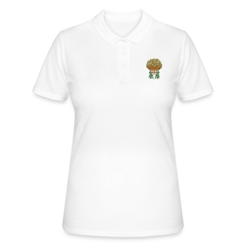 Golden Brain - Frauen Polo Shirt
