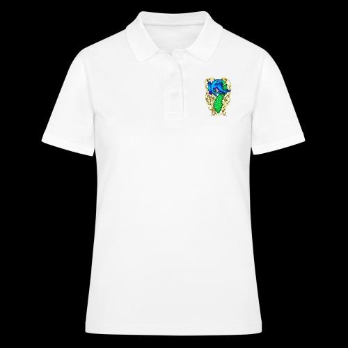 Peacock Dragon - Women's Polo Shirt