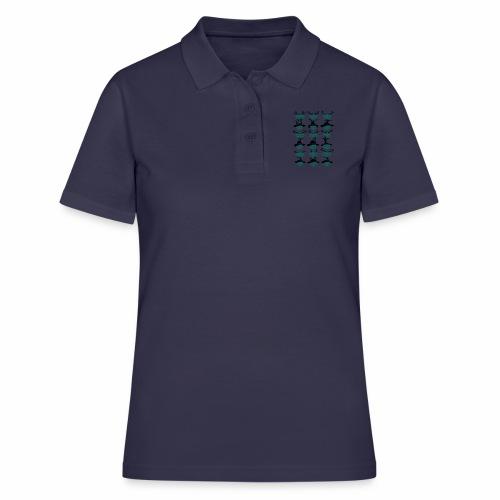Trachtenrockabilly - Frauen Polo Shirt