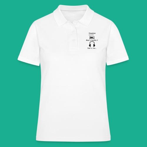 Sleepless - Frauen Polo Shirt