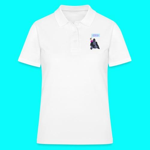 VEGAN GORILLA T-SHIRT - Women's Polo Shirt