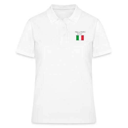 Włosko-polska - Koszulka polo damska