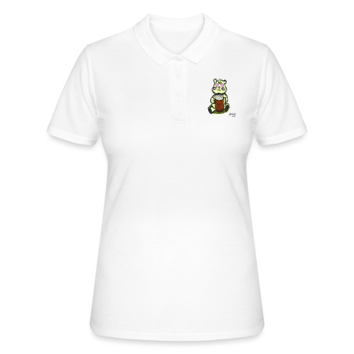 Ours Amoureux AngelerasCorp - Polo Femme