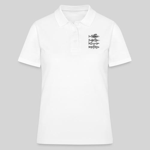 in the deep lake - Women's Polo Shirt
