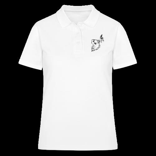 Black Wolf Thunder - Frauen Polo Shirt