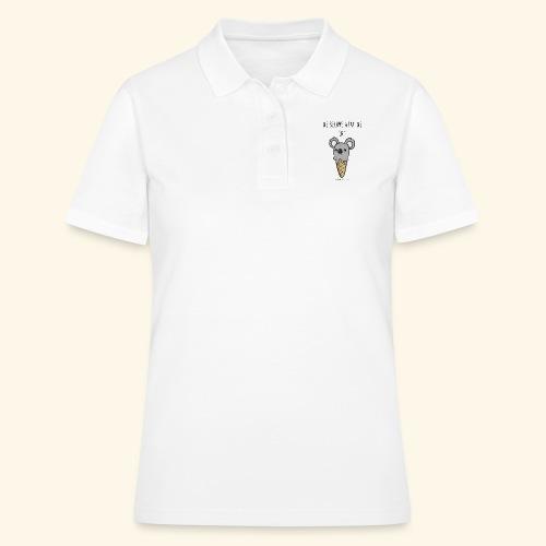 ice cream koala - Women's Polo Shirt