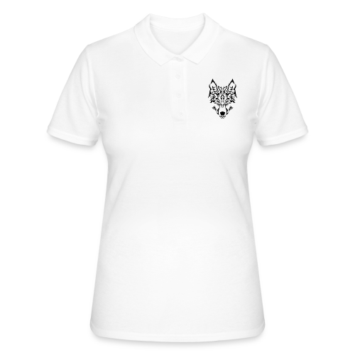 Tribal Wolf - Women's Polo Shirt