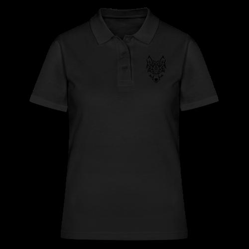 Tribal Wolf - Women's Polo Shirt