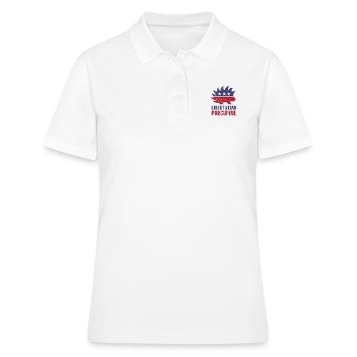 Libertarian porcupine - Women's Polo Shirt
