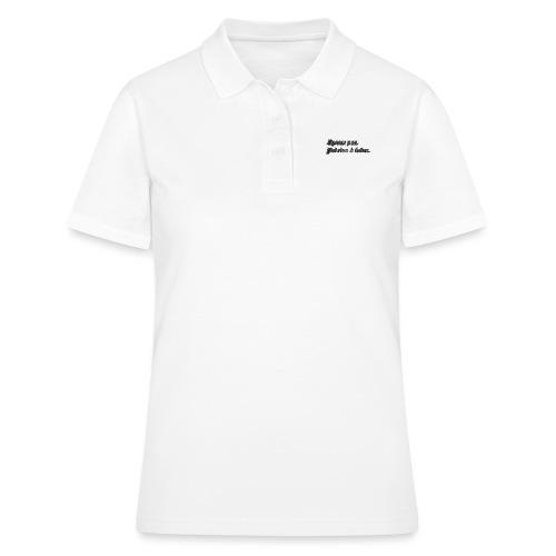 J'peux pas, j'ai rien à faire. 3D - Women's Polo Shirt