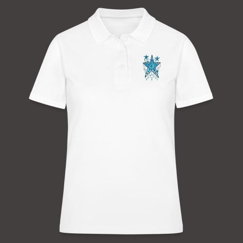 ETOILE DENTELLE BLEUE - Women's Polo Shirt