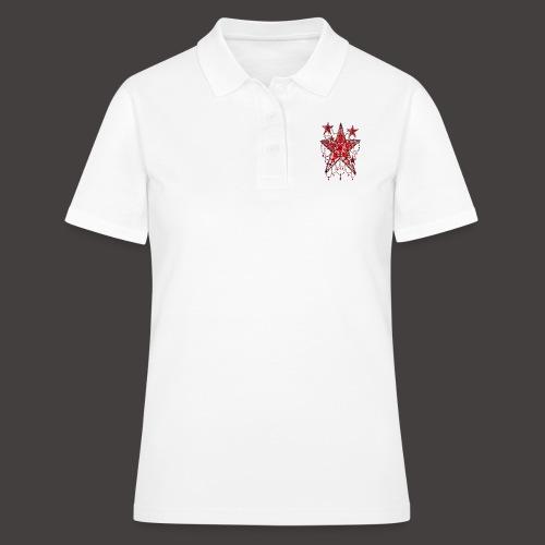 ETOILE DENTELLE ROUGE - Women's Polo Shirt