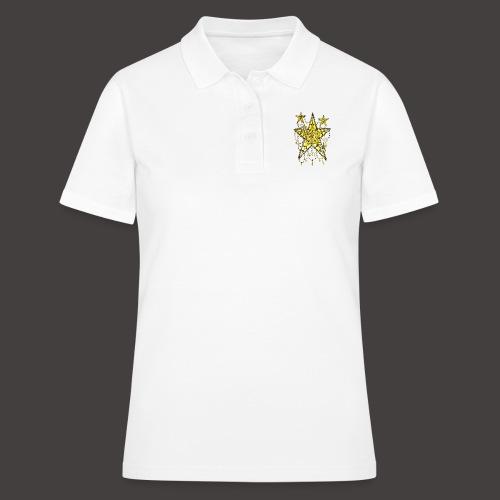 ETOILE DENTELLE JAUNE - Women's Polo Shirt
