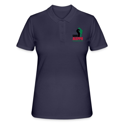SAVE ALEPPO - Women's Polo Shirt
