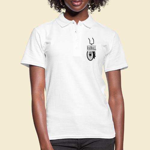 Radball | Retro Black - Frauen Polo Shirt