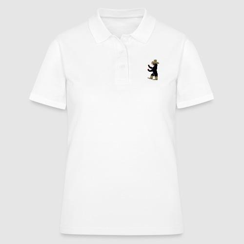 Berlin Bär cowboy - Frauen Polo Shirt