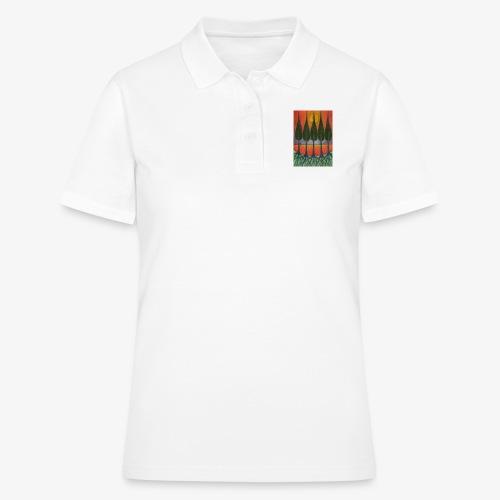 Czerwony Zachód Słońca - Women's Polo Shirt