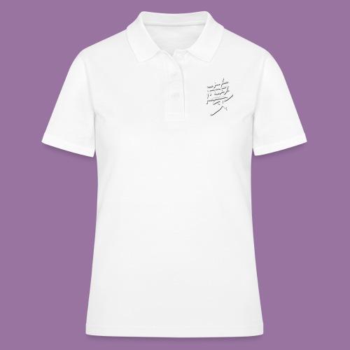 Kanji Dream - Women's Polo Shirt
