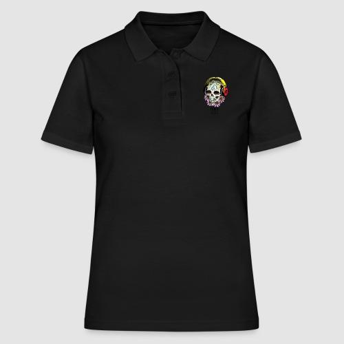 smiling_skull - Women's Polo Shirt