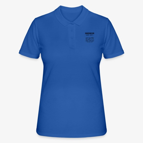 Engineer Def. 2 Black - Polo Femme