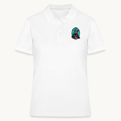 Queen Kong Schloss Türkis - Frauen Polo Shirt