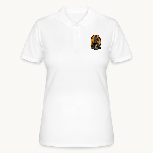 Queen Kong Castle Sonnenuntergang - Frauen Polo Shirt