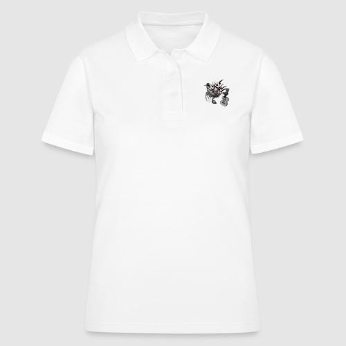 skorpion-gitarre - Frauen Polo Shirt