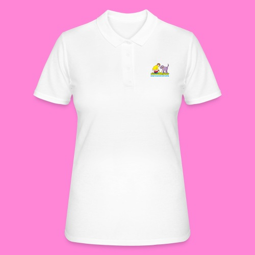 Mannetje Poep Illustratie - Women's Polo Shirt