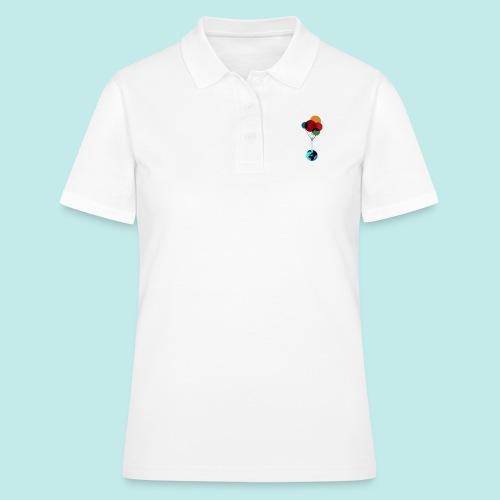EARTH & BALLOONS - Women's Polo Shirt
