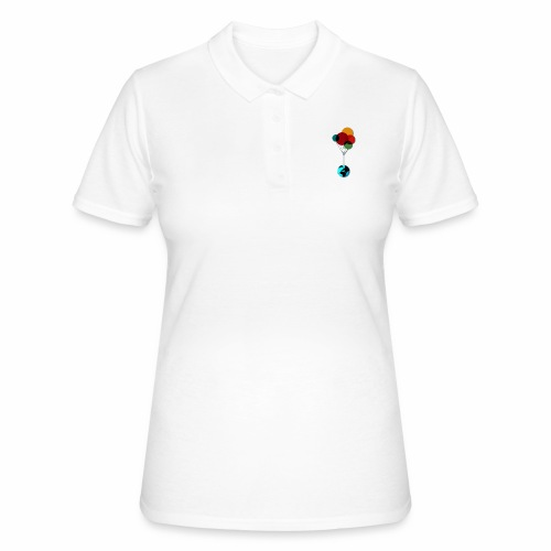 EARTH & BALLOONS - Women's Polo Shirt