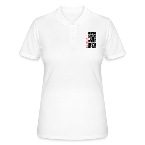 PPH V1 Back-Print - Frauen Polo Shirt