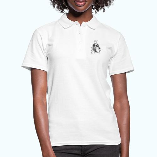 DRAGON STYLE real drawing - Women's Polo Shirt