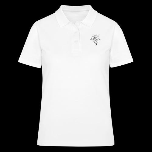 blumen Rose - Frauen Polo Shirt