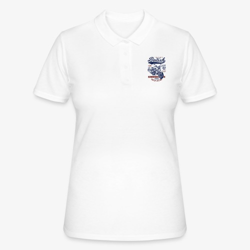 British Motorcycle - Women's Polo Shirt