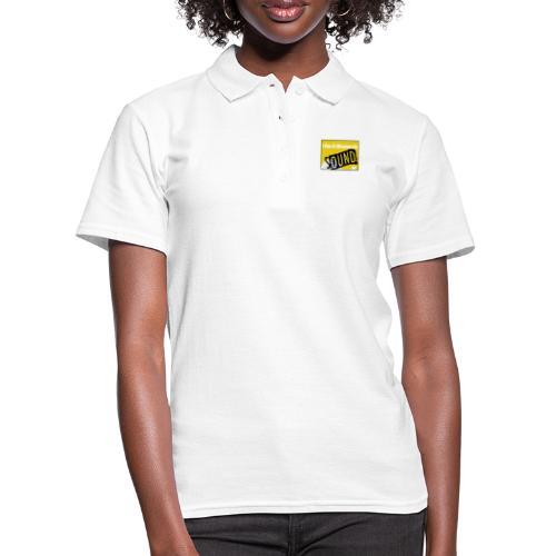 I am a woman in sound - yellow - Women's Polo Shirt
