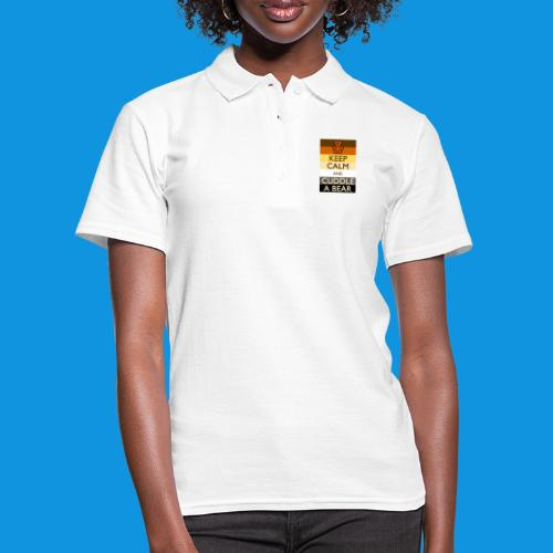 Calm Bear pocket tank - Women's Polo Shirt