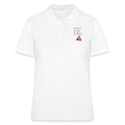 Menschenleben in Zahlen - Frauen Polo Shirt