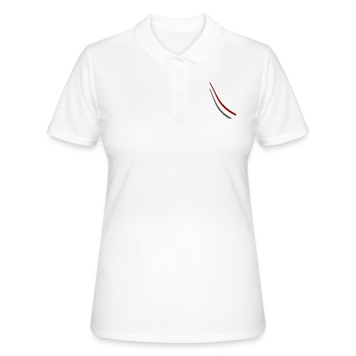 stripes shirt png - Women's Polo Shirt