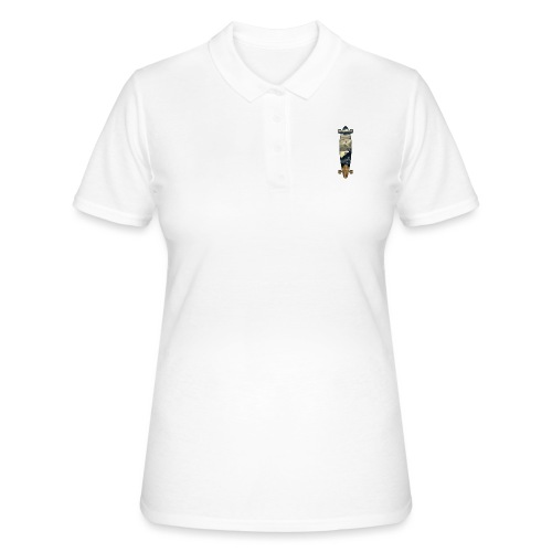 Longboard. Ride the World. - Frauen Polo Shirt