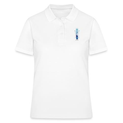 Freeski - Black - Frauen Polo Shirt
