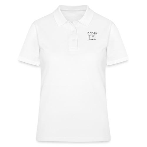 'GOD IS' t-shirt - Women's Polo Shirt