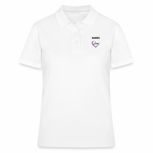Mariel Love - Camiseta polo mujer