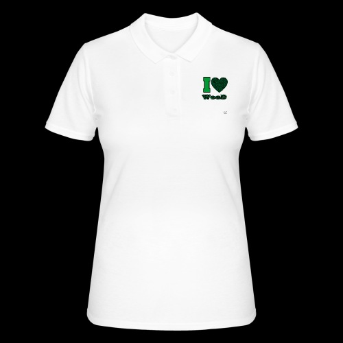 I Love weed - Women's Polo Shirt