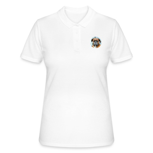 Funny Dog - Frauen Polo Shirt